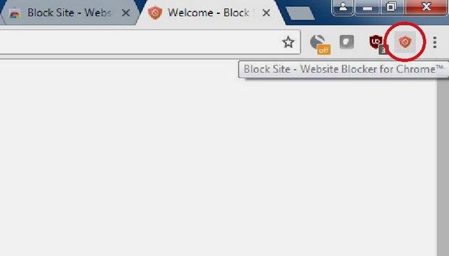 Block site Icon
