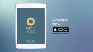 Say It: English Pronunciation