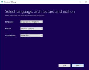 تحويل نظام Windows 10