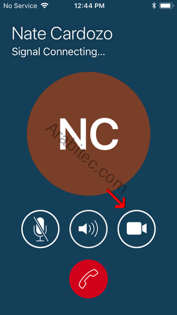 signal video call