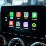 تطبيقات شاشة السيارة