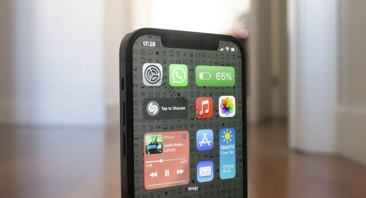 استخدام ويدجات iOS 15